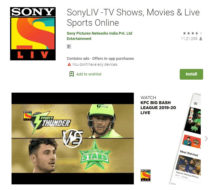 app similar to hotstar
